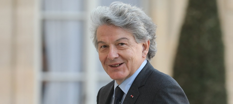 Portrait of Thierry Breton