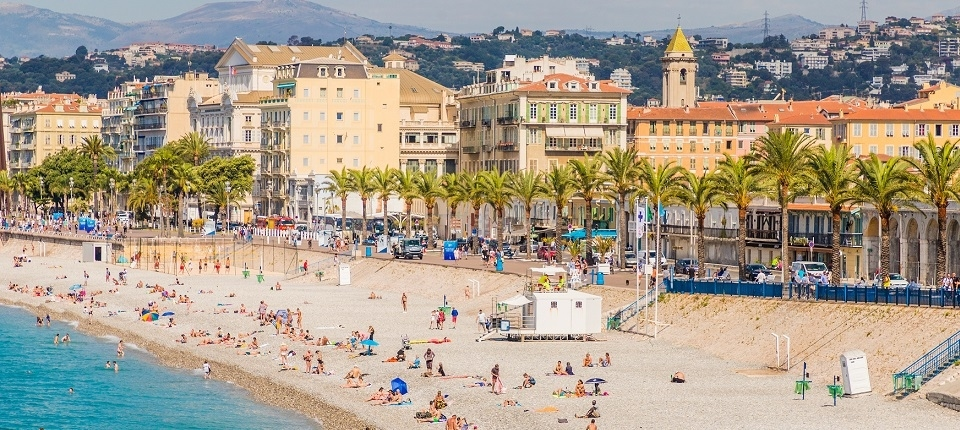 View from Nice