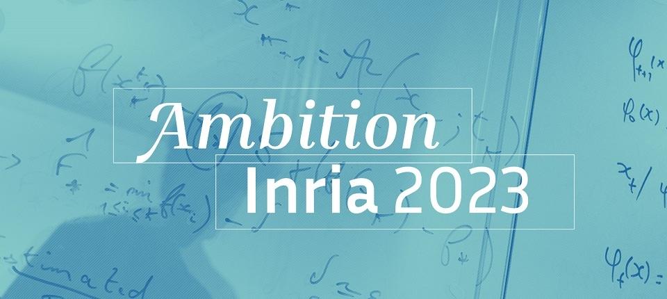 Ambition Inria 2023 logo
