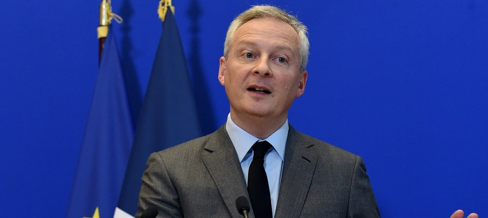Economy and Finance minister Bruno Le Maire