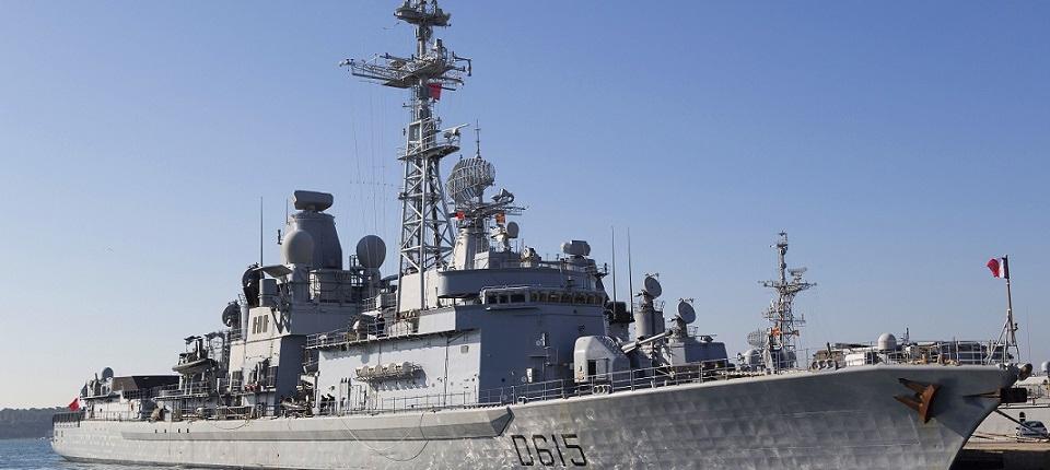 Anti-aircraft frigate Jean Bart
