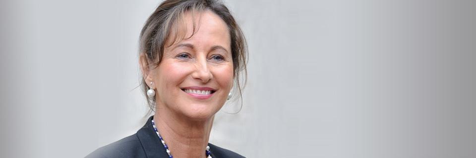 Portrait de Ségolène Royal. Photo : A.Bouissou/MEDDE