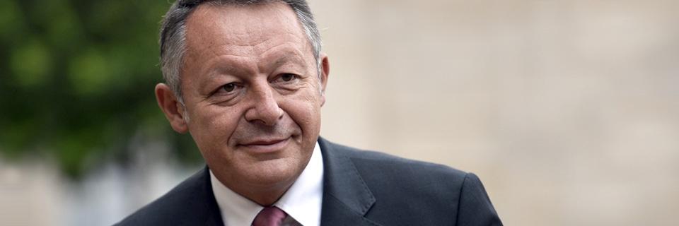 Portrait de Thierry Braillard. Photo : AFP
