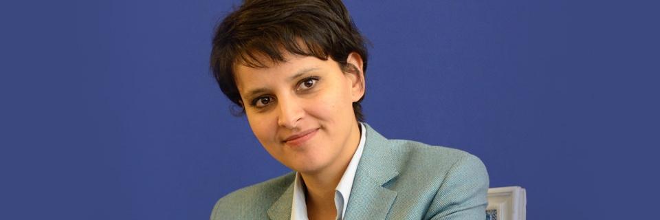 Portrait de Najat Vallaud-Belkacem