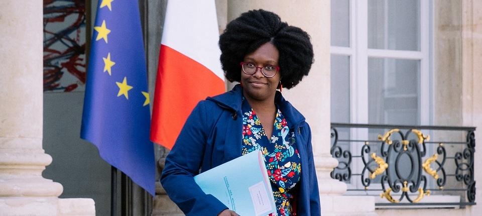 Portrait de Sibeth Ndiaye