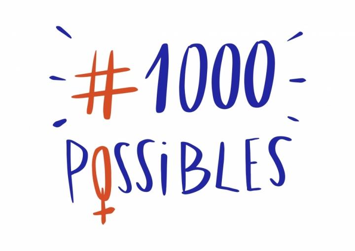 Le logo de « 1 000 Possibles »