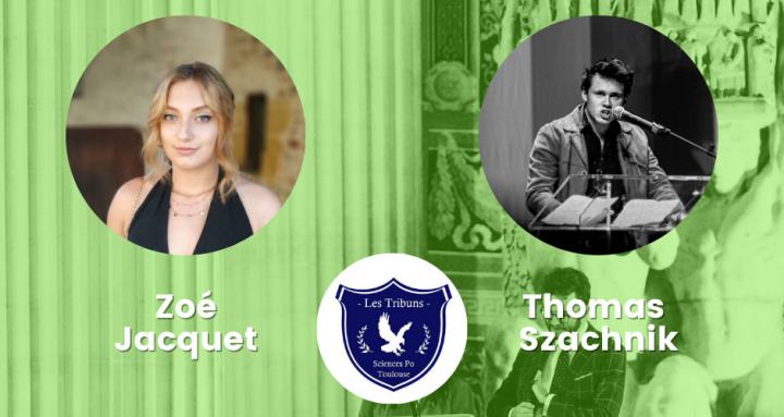 Portrait de Zoe Jacquet et de ThomasSzachnik, un des 5 duos présent en finale