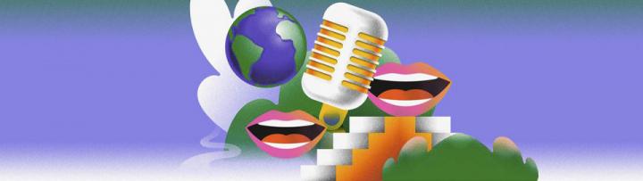 Détails de l'affiche du concours d'éloquence de la FFDE