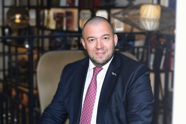 Guillaume Gomez, représentant personnel du président de la République auprès des acteurs et réseaux de la gastronomie et de l'alimentation.