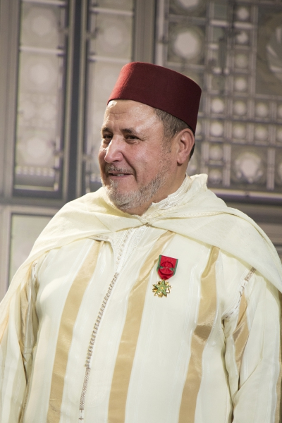 Khalil Merroun, recteur de la mosquée d'Evry
