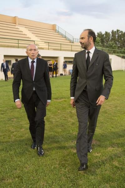 Édouard Philippe et Gérard Collomb