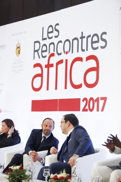 "The Prime Minister and his Tunisian counterpart open the 2017 ""Rencontres Africa"""