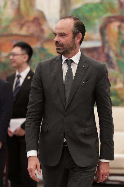 Le 23 juin 2018 : Arrivée du Premier ministre à l'Hôtel Hengshan