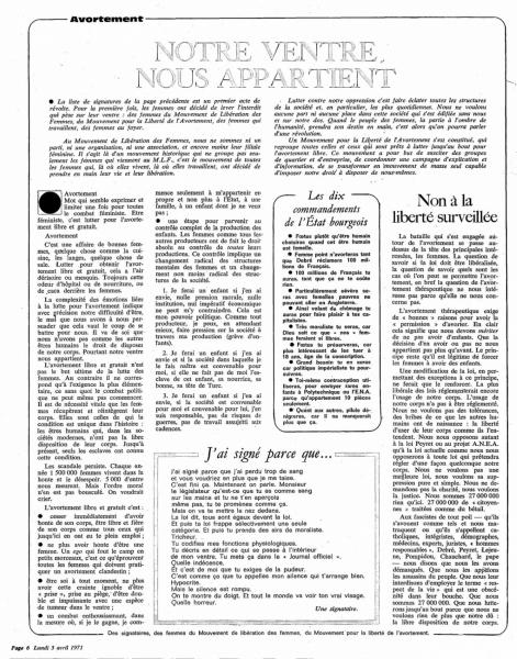 Article des signataires