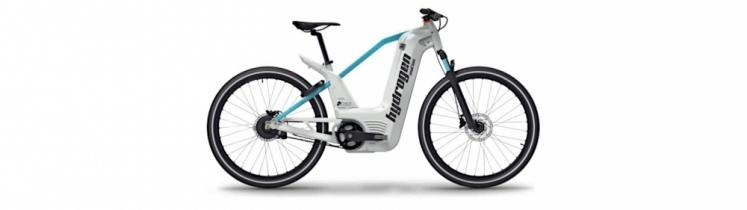 Photo d'un vélo à hydrogène