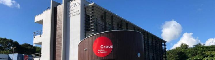 Le bâtiment du CROUS Antilles et Guyane