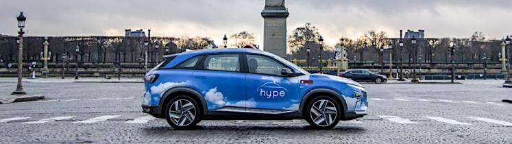Taxi Hype dans Paris