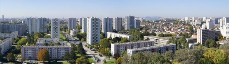 Des immeubles de logement