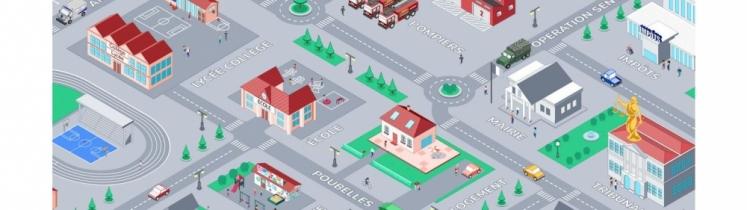 Un plan de quartier
