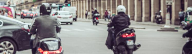 Des scooters dans Paris