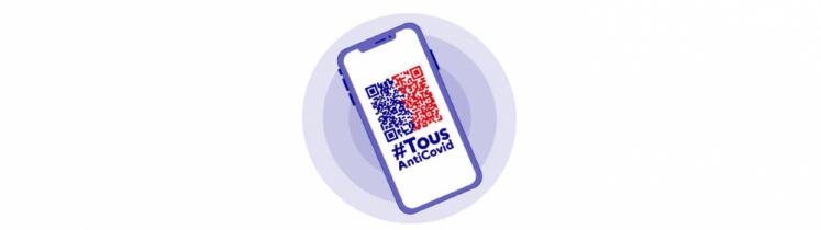 Pour les Français souhaitant utiliser la version numérique du certificat sanitaire européen, cela se fera par l'application TousAntiCovid.