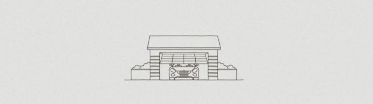 Un garage se ferme