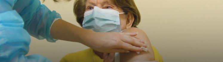 Rappel de vaccin sur personne de plus de 65 ans