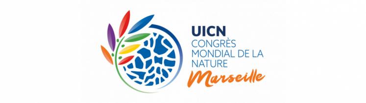 Le visuel du Congrès mondial de la nature de l'Union internationale pour la conservation de la nature