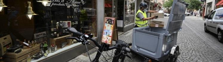 Photo de vélo-cargo