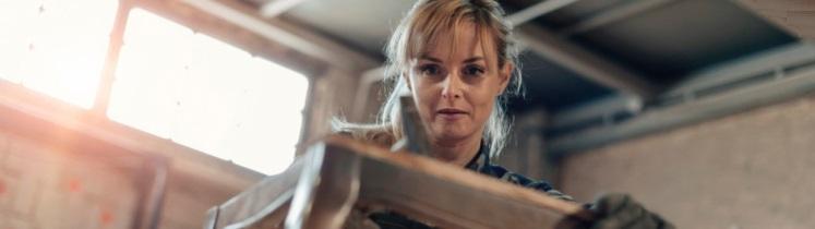 Un femme artisan