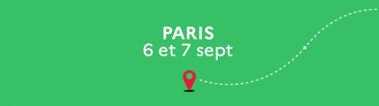 Le Train de la Relance fait étape à Paris, gare de l'Est