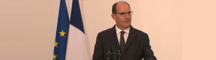 Le Premier ministre Jean Castex