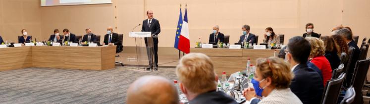 Intervention de Jean Castex en réunion avec les ambassadeurs de France à l'étranger
