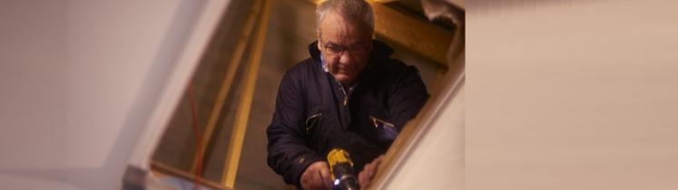 Travaux de rénovation thermique dans un logement