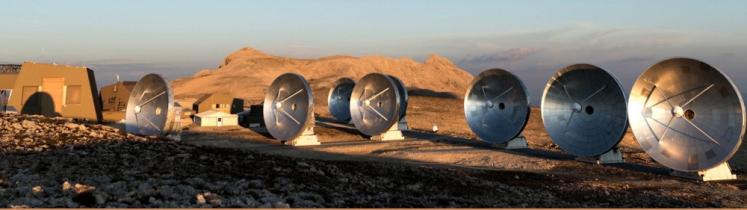 L'observatoire Noema, situé à 2 550 mètres d'altitude, sur le plateau de Bure dans les Hautes-Alpes