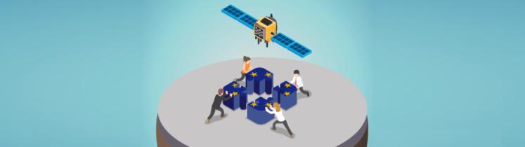 Le satellite Galiléo construit par des Européens