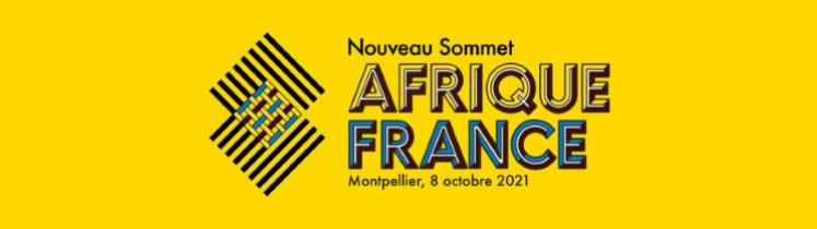 Le logo du sommet Afrique-France