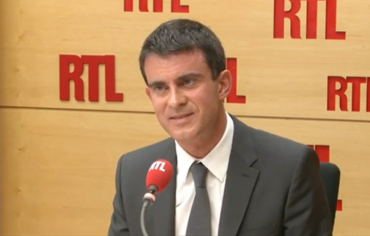 L'interview de Manuel Valls sur RTL