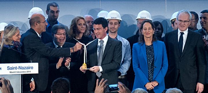 """Manuel Valls : """"Nous devons être ensemble au rendez-vous de la croissance bleue"""""""