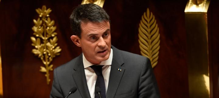 """#Syrie : """"La France est en guerre contre le terrorisme, le djihadisme, l'islamisme radical. Ce sera long mais nous l'emporterons."""""""