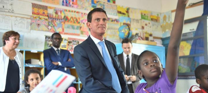 Tournée de Manuel Valls en Afrique : 1re étape le Sénégal