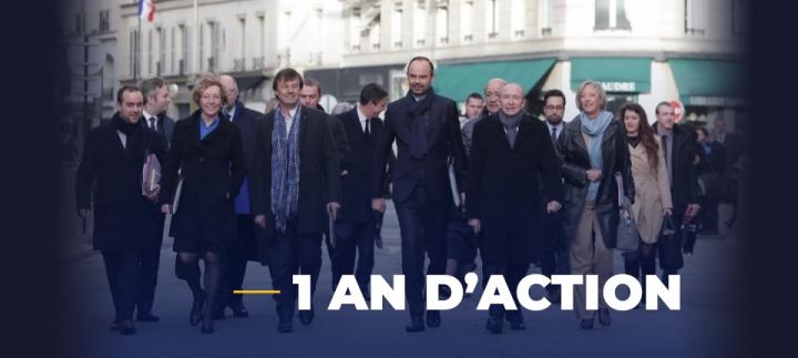 Un an d'action pour libérer, protéger et unir les Français