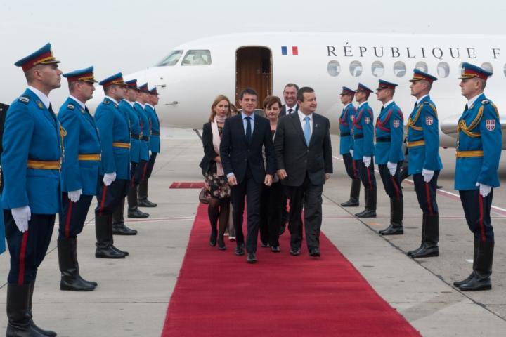 Visite officielle en République de Serbie