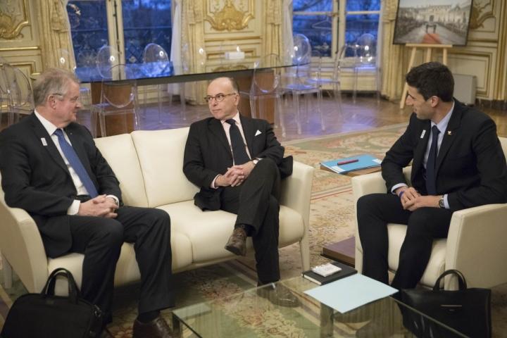 Entretien avec Bernard Lapasset et Tony Estanguet, co-présidents du comité Paris Jeux OIymlpiques 2024