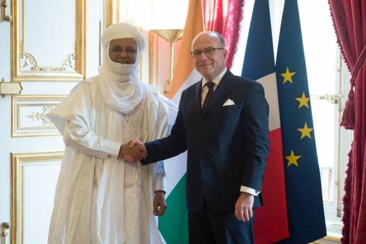 Visite de Brigi Rafini, Premier ministre de la République du Niger