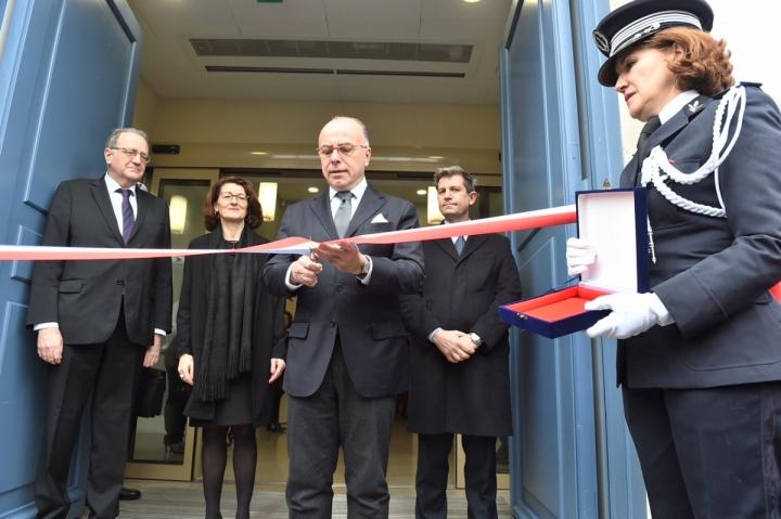 Inauguration de l'Institut national des hautes études de la sécurité et de la justice (INHESJ)