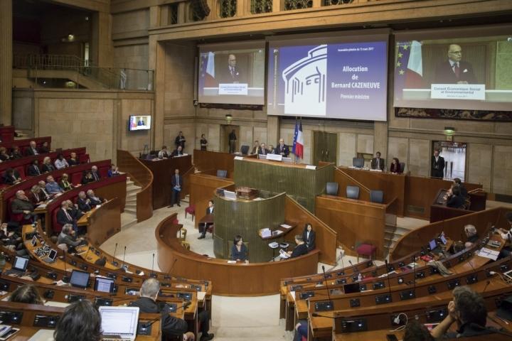 Intervention au Conseil économique, social et environnemental (CESE)