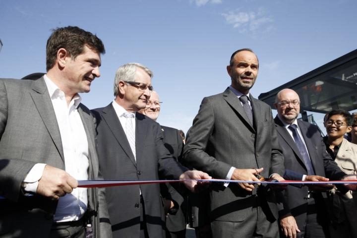 Inauguration la foire de Châlons-en-Champagne
