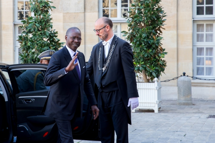 3e séminaire intergouvernemental franco-sénégalais à Matignon