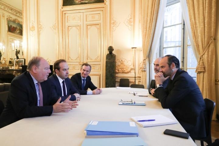 Élections européennes : le Premier ministre reçoit les responsables des partis et mouvements politiques